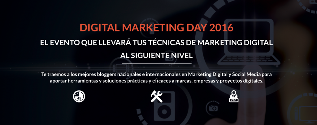 Descuento para participar en el Digital Marketing Day